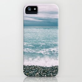 Menton Beach iPhone Case