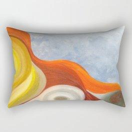 Cadmium Wave Rectangular Pillow
