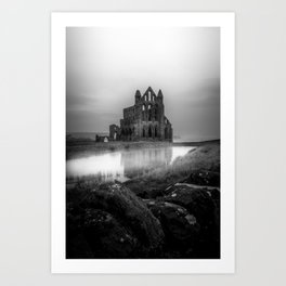 Gothic in Grey Art Print