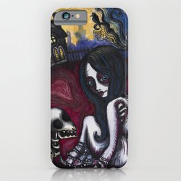 A Zombie's Best Friend iPhone Case