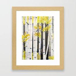 Birch Tree Framed Art Print