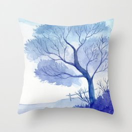 Winter scenery #8 Throw Pillow