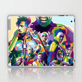Blak Panther Series In Pop Art Laptop & iPad Skin