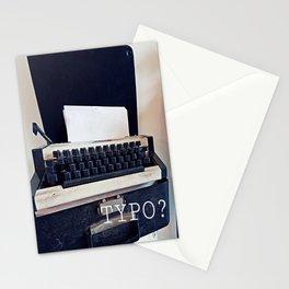 Typo? Stationery Cards