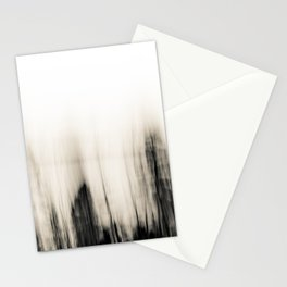 Trees By the Sea Abstract Stationery Cards