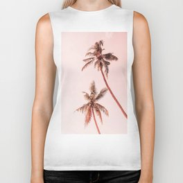 Sunset palms Biker Tank