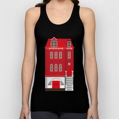 Red House Unisex Tank Top