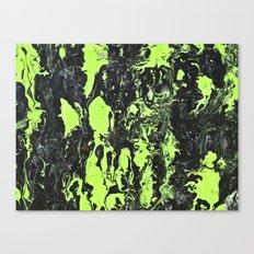 The Green Swim Canvas Print