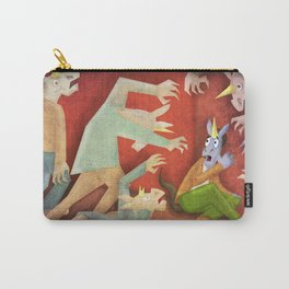 Zombie Unicorn V02 Carry-All Pouch