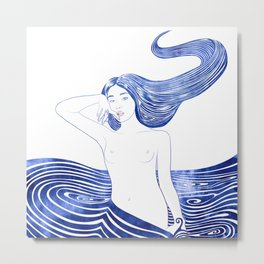 Water Nymph XLV Metal Print