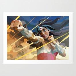 WonderWoman Art Print