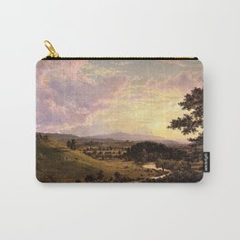 View Near Stockbridge, Massachusetts by Frederic Edwin Church Carry-All Pouch