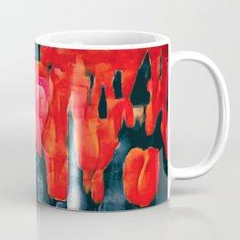 Tulip Field at Night Coffee Mug