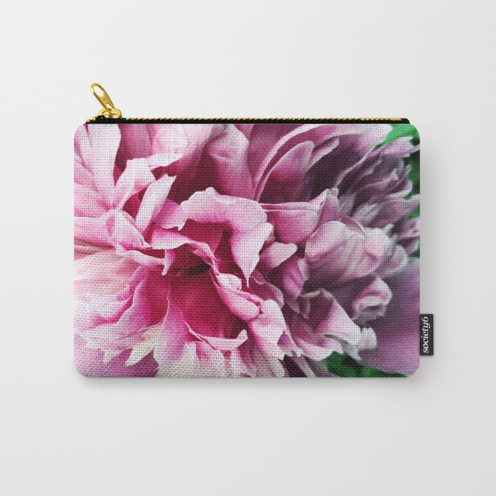 Big pink peony Carry-All Pouch