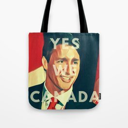 Yes We CANada! Trudeau Tote Bag