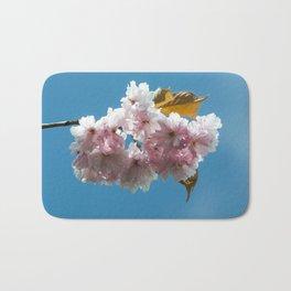 Cheery Blossom Up Close Bath Mat