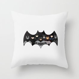 Who is the Bat? Throw Pillow