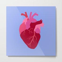 Serenity Heart Metal Print