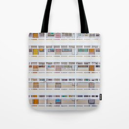 Hong Kong apartment in old district Tote Bag