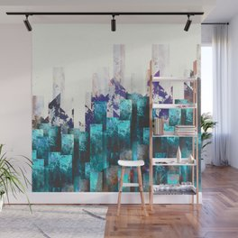 Cold cities Wall Mural