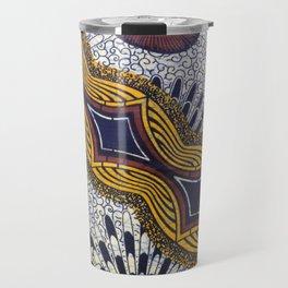 Tanzanian Fabric Travel Mug