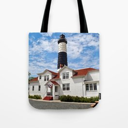 """Big Sable Point Lighthouse"" #2 Tote Bag"