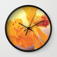 cosmos Wall Clocks featuring Cosmos by DuckyB