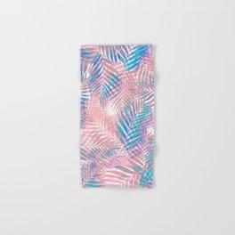 Palm Leaves - Iridescent Pastel Hand & Bath Towel