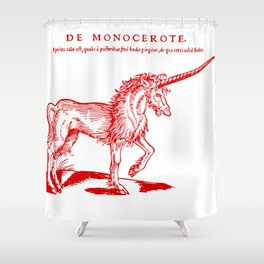 Monocerus Shower Curtain