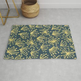 Queen Anne's Lace #4 Rug