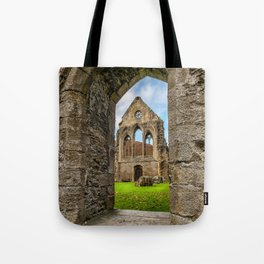 Valley of the Cross Tote Bag