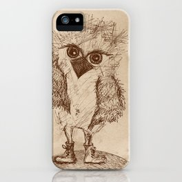 Tough Chick iPhone Case