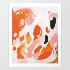 Color Study No. 4 Art Print