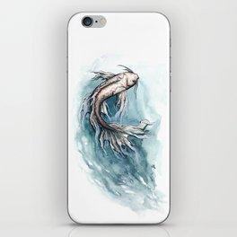 Koi Watercolor iPhone Skin
