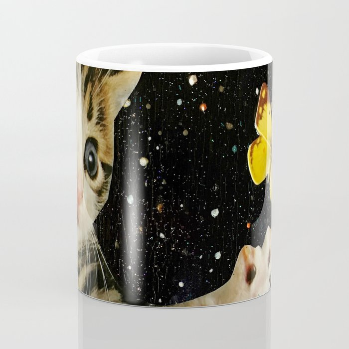 All Across the Universe Chasing Butterflies and Dreams Coffee Mug