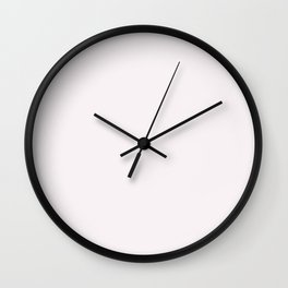 From This Day Forward ~ Aged White Wall Clock