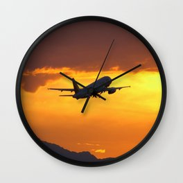 Airliner27 Wall Clock