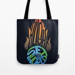 Set the World Alight Tote Bag