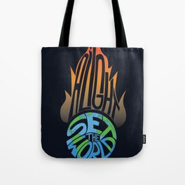 Set the World Alight Tote Bag