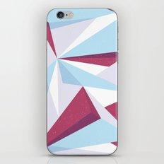 Maroon & sky  iPhone & iPod Skin