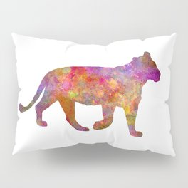 Female Lion 01 in watercolor Pillow Sham