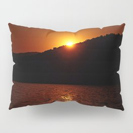Beautiful Red Sunset #1 Pillow Sham