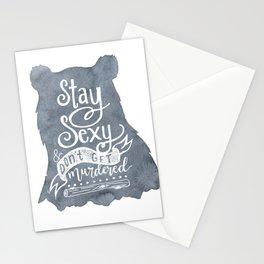 SSDGM Bear Stationery Cards