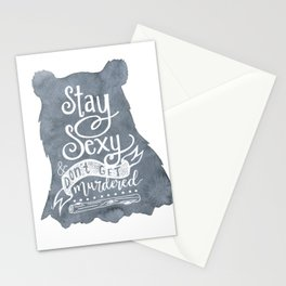 SSDGM Bear Stationery Cards