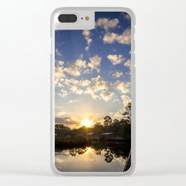 Mornings Embrace Clear iPhone Case