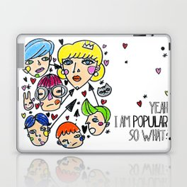 Pop girl Laptop & iPad Skin