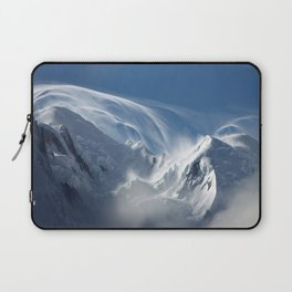 Blizzard in the High Mountains Laptop Sleeve