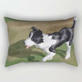 Dog Park Rectangular Pillow