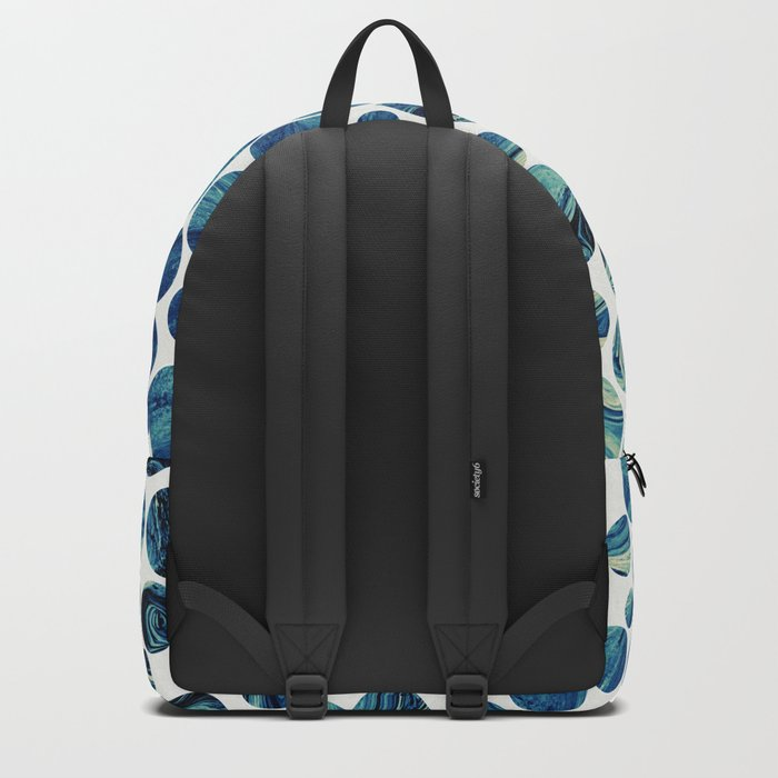 Marble Effect Dots Backpack