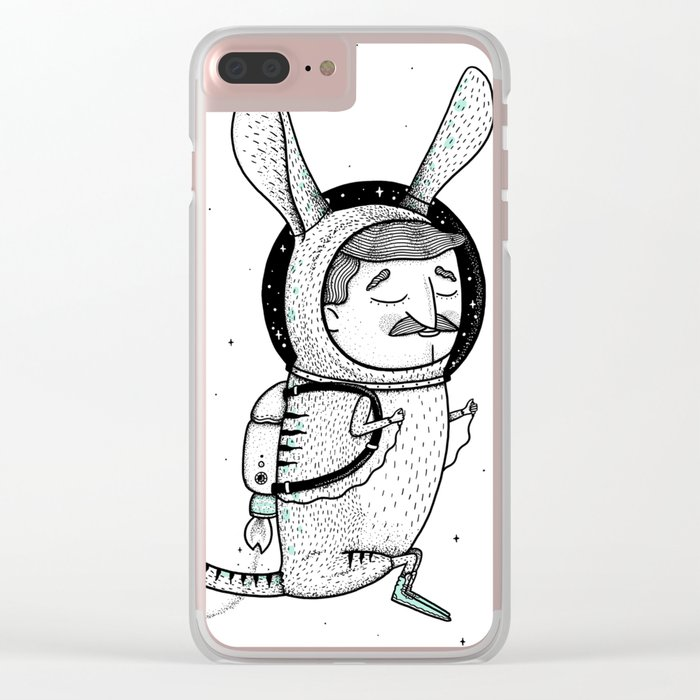 The Jerboa's Dream Clear iPhone Case